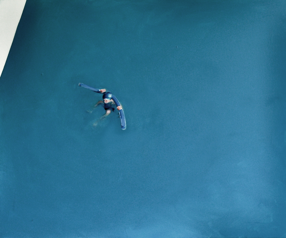 """Katarzyna Szeszycka """"Untitled (Swimming pool / basen)"""""""