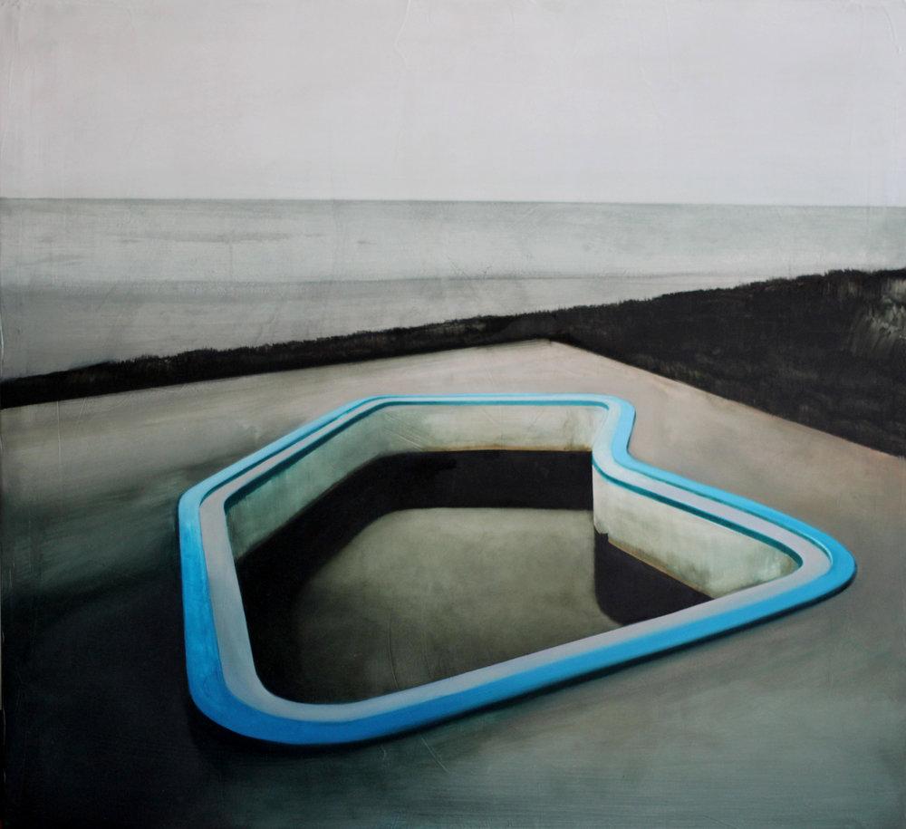 """Katarzyna Szeszycka """"the empty swimming pool l"""""""