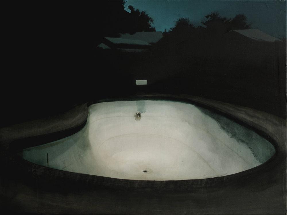 """Katarzyna Szeszycka """"the empty swimming pool ll"""""""