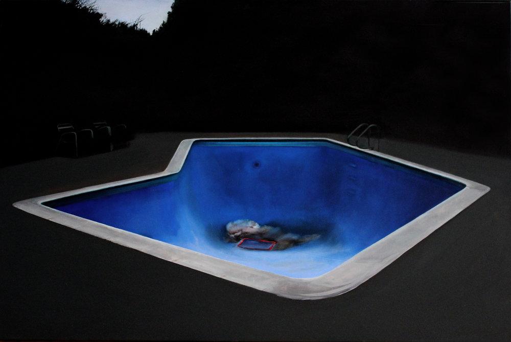 """Katarzyna Szeszycka """"the empty swimming pool lll"""""""