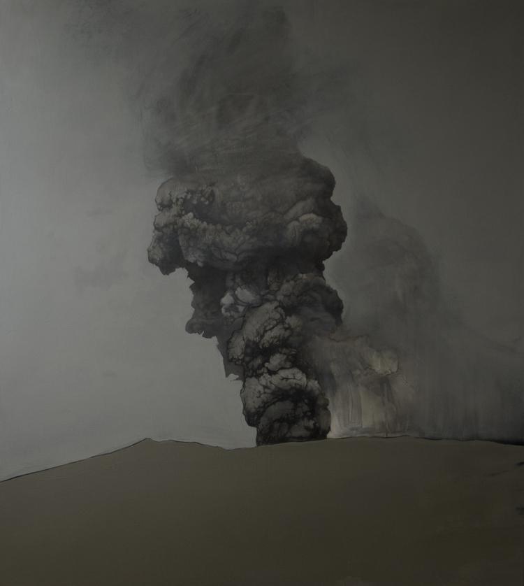 """Katarzyna Szeszycka """"Untitled ll (Volcano Area)"""""""