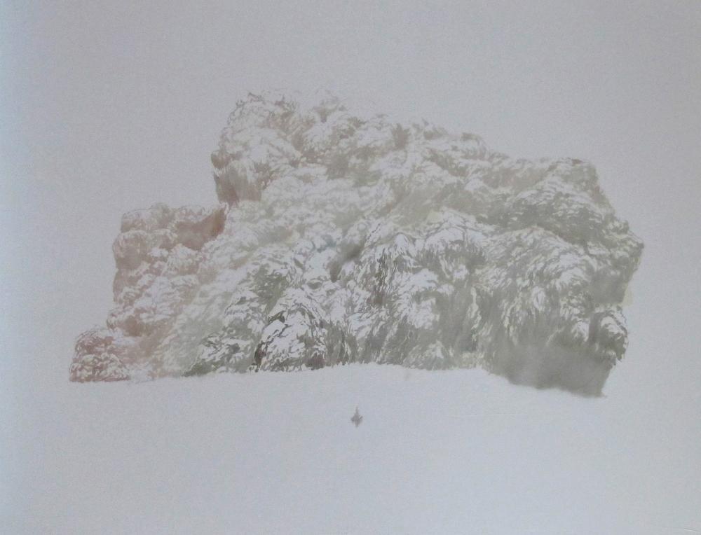 """Katarzyna Szeszycka """"Untitled (Volcano Area)"""""""