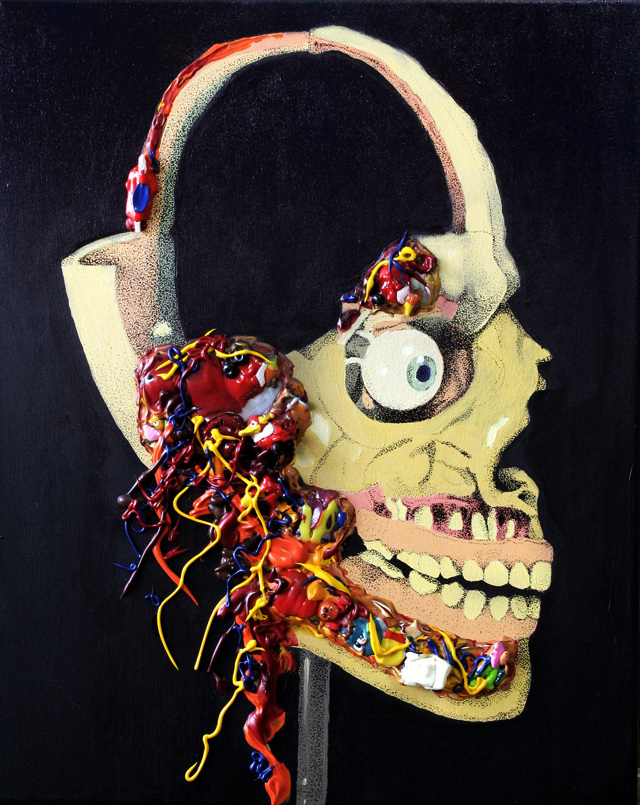 "Marta Antoniak ""Skull, Plastic Throat"""