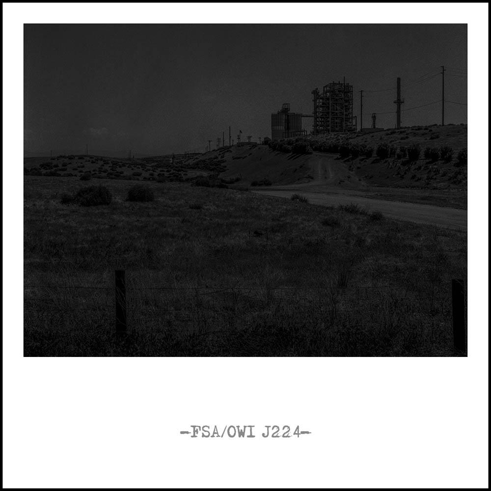 """Tim van den Oudenhoven """"Shattered Land (Industrial Sections)"""""""