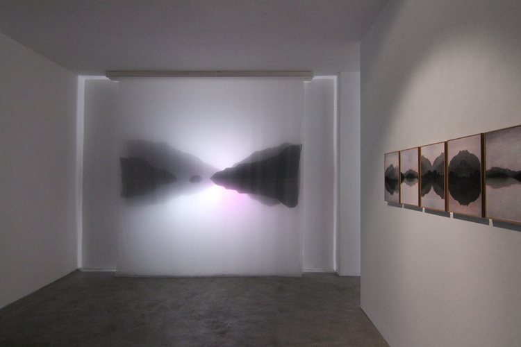 "Petra Lindholm ""Fjord light installation"""